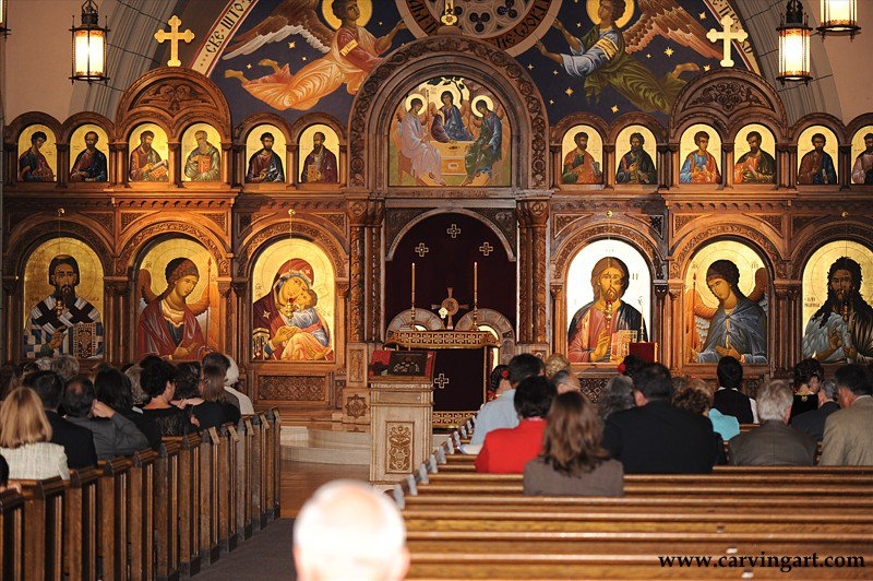 iconostasis the carved miniatures of george bilak orthodox arts journal
